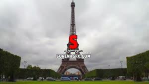 فوتیج برج ایفل در شهر پاریس