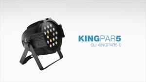 تجهیزات نورپردازی حرفهای Stagg : مدل KingPar۵