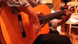 تکنوازی با گیتار اسپانیایی استیو مدل ۵FCE