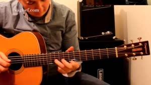 تکنوازی با گیتار آکوستیک تنگلوود مدل TW۴۰ O AN E