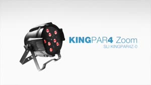 تجهیزات نورپردازی حرفهای Stagg: مدل KingPar۴ Zoom