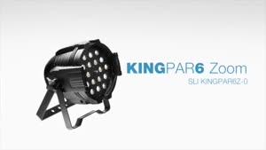 تجهیزات نورپردازی حرفهای Stagg :مدل KingPar۶ Zoom