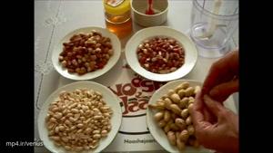 طرز تهیه کره بادام زمینی