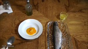 طرز تهیه ماهی شکم پر