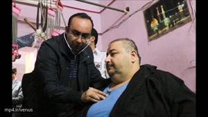 ماجرای زندگی عمو موسی، چاقترین مرد ایران!