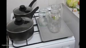طرز استریل کردن شیشه های مربا و ترشی