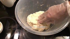 طرز پختن انواع نان با خمیر ترش