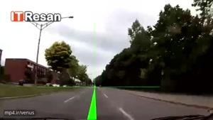 توجه به مرکز مسیر در حین رانندگی
