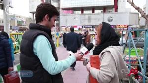 مصاحبه با مردم در مورد استفاده از زبان انگلیسی در زبان پارسی