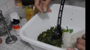 طرز تهیه ی کوفته برنجی