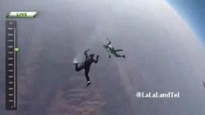 پرش بدون چتر یک چترباز شجاع دل از ارتفاع ۷ هزار متری را ببینید!