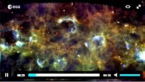 ویدئویی از کهکشان راه شیری!