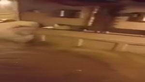 سیل شدید در خیابانهای شهر مکه در پی بارش شدید باران ! _فکر کنم شیر اصلاحات رو زیادی باز گذاشتن :)