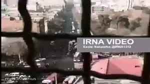 فیلم یکی از آتش نشانان حاضر در طبقه ۱۱ پلاسکو پیش از ریزش این ساختمان