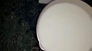 طرز تهیه حلوای شیر