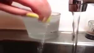 تغییر رنگ لاک با آب گرم و سرد