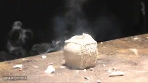 آزمایش های بامزه استیو تابین با انفجارهای کوچک
