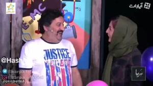 چالش گاز هلیوم شقایق دهقان و مهراب قاسم خانی... فقط صدای شقایق دهقان 😂