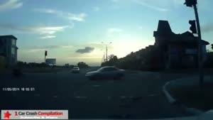 تصادفات وحشتناک در روسیه