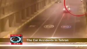 تصادفات شدید منجر به فوت در شهر تهران