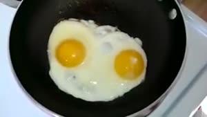 تخم مرغ بامزه