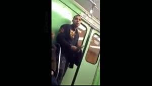 دزدی موبایل در مترو
