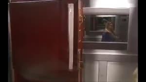 Extremely Scary Corpse Elevator اشكنان دوربين مخفي جسده مرده اسانسور و ترساندن خانم ها