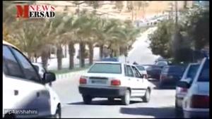 تعقیب و گریز پلیس با قاچاقچیان سوخت در قصر شیرین