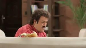 کلیپ بشدت خنده دار ساندویچ خوردن مهران غفوریان