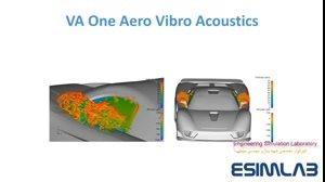 شبیه سازی ایرو آکوستیک Aero-Vibro-Acoustics با Abaqus , Ansys , Actran ,VA One , Fluent , Star-ccm+