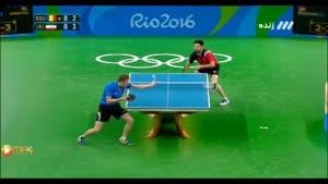 بازی پینگ پنگ رومانی و ایران -نیما عالمیان
