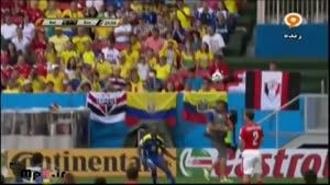سوییس ۲ - ۱ اکوادور