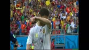 هلند ۵ - ۱ اسپانیا