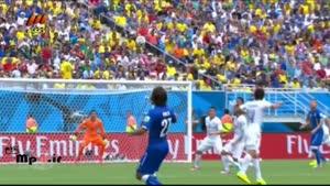 ایتالیا ۰ - اروگوئه ۱