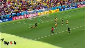 اسپانیا ۳ - ۰ استرالیا