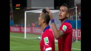 استرالیا ۱ - ۳ شیلی