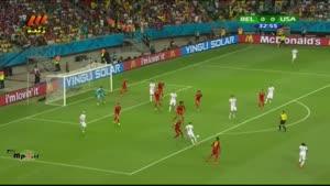 بلژیک ۲ - آمریکا ۱
