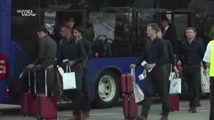 ورود تیم المان به برزیل