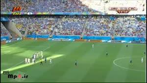 کاستاریکا ۳ - ۱ اروگوئه