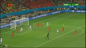هلند ۴ - ۳ کاستاریکا (ضربات پنالتی)