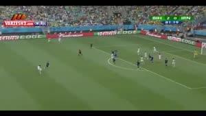 تک گل ایران در جام جهانی ۲۰۱۴ برزیل