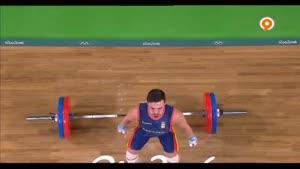 گزیده ای از صحنه های بسیار جذاب رقابت های وزنه برداری تا روز سوم المپیک
