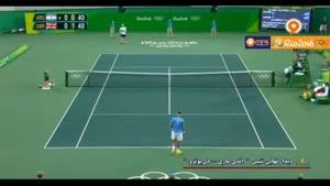 رقابت فینال تنیس بین اندی ماری و دل پوترو