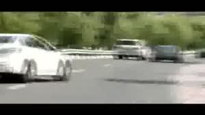 فیلمی از خطرناکترین رانندگان تهرانی