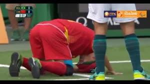 برزیل ۲-۱ چین - فوتبال ۵ نفره