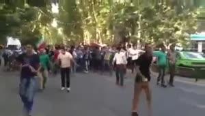 شادی مردم پس از راهیابی ایران