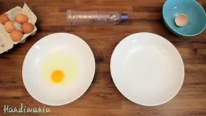 یه کار جالب با تخم مرغ