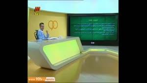 عطسه عادل فردوسی پور در برنامه زنده