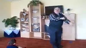 رقص زیبای پیر مرد