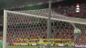 خلاصه ای از فوتبال جذاب و دیدنی سوییس و پرتغال